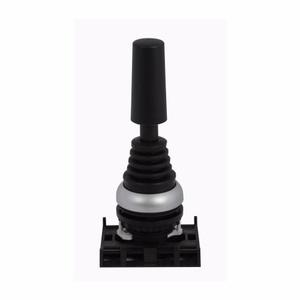 Eaton M22-WJ2V Joy Stick, 2 Position, Vertical, Momentary, Silver Bezel, 22.5mm