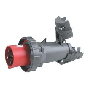 Pass & Seymour PS430P7-W Pin & Sleeve Plug, 30A, 3PH 480V, 3P4W
