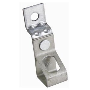 "Erico Caddy 6TIO Rod Hanger, Offset Bracket, 3/8"" Hole, Steel"