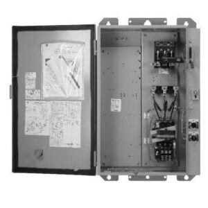 GE CR340E3X4FZ149 Pump Panel, Size 3, Nema 3R, 3PH, Breaker Disconnect, 480 VAC Coil