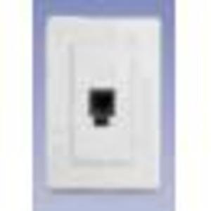 AX100335 NORDX SINGLE FLUSH DVO IVORY