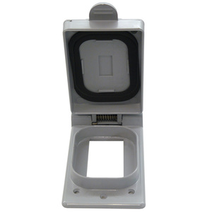 Cantex 5133348 1-Gang, GFI Receptacle Device Cover