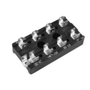 Elec-Tron ESB2-217-274 Terminal Block, 8P, 0.25 x 0.32 Quick Connect Tabs