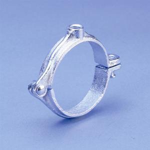 "nVent Caddy 4550075EG Split Ring Hanger, Pipe Size 3/4"", Rod Size 3/8"""