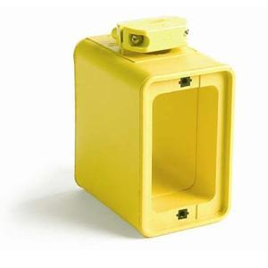 """Woodhead 3050 Portable Outlet Box, 3-3/8"""" Deep - 2 1-Gang Covers"""