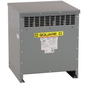 Square D EXN45T3H Transformer, Dry Type, 45kVA, 3PH, 480 Delta - 208Y/120VAC, 150C Rise