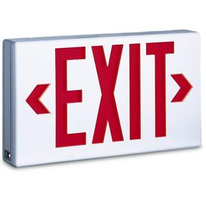 TCP 22743 Emergency  Exit Sign, Red LED