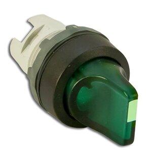 ABB M2SS2-11G 22mm Selector Switch, Knob Type, Black, Modular