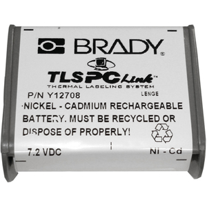 Brady TLSPC-BP RECHARGEABLE BATTERY *** Discontinued ***