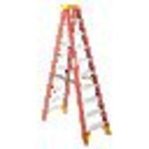 Werner Ladder 6210 Fiberglass Stepladder, 10', 300 lbs