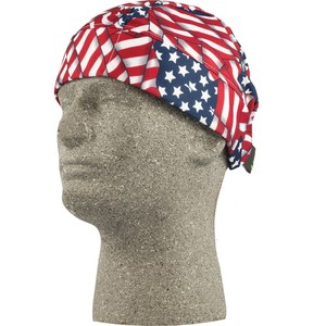 Lift Safety ACB-15F Cooling Beanie, American Flag