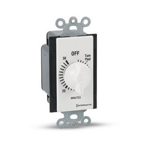 Intermatic FD30MWC Time Switch, 30-Minute, SPST, White