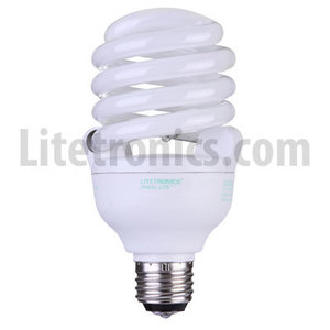 Litetronics L-33627 Compact Fluorescent Lamp, 3-Way, Twister, 12/22/33W, 120V *** Discontinued ***