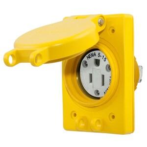 Hubbell-Wiring Kellems HBL60W47 WATERTIGHT RECEP ASSY, NEMA 5-15R