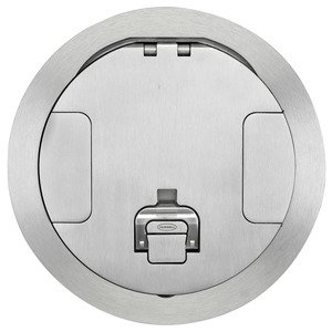 Hubbell-Wiring Kellems CFBS1R8CVRALU CFB ROUND 8 INCH COVER ALUMINUM