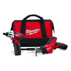 Milwaukee 2490-22 M12 Cordless Tool Kit