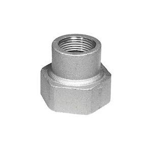 """Appleton BR150125A Bell Reducing Coupling, 1-1/2 to 1-1/4"""", Aluminum"""
