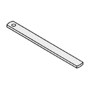 "Eaton B-Line FIG-69R-3/8X10-RFCRTSTRP-PGL Beam Clamp Retaining Strap, Rod Size: 3/8"", Length: 10"""