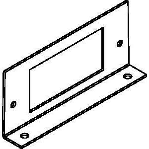 Wiremold RFB-GFI-SS Internal Bracket, Type: GFI Receptacle, Metallic