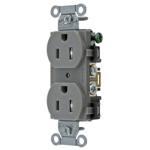 Hubbell-Wiring Kellems BR15GRYTR TAMP RES, COM GRD,