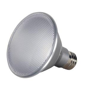 Satco S9424 13 WATT PAR30 SHORT NECK LED; 5000K; MEDIUM BASE; 120 VOLTS