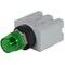 C3 Controls MRL125DLG-MPLLGN Pilot Light, 16mm, 125V AC/DC, LED Only, Green Lens, Green Lamp