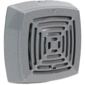 Edwards 870P-N5 Vibrating Horn, 120VAC, 0.13A, 103dB, Panel Mount, NEMA 4X, Gray