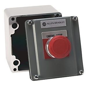 Allen-Bradley 800R-R3TA Control Station, 3 Position, Selector Switch, Knob, HAND-OFF-AUTO