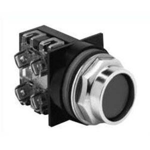 ABB CR104PBG10G3 Push Button, recessed Green Head, 30mm, 1NO Contact, Momentary