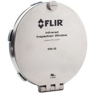 "FLIR IRW-4S 4"" IR Inspection Window, Stainless Steel"