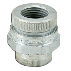 "Appleton UNF50NR Union, 1/2"", Female/Female, Explosionproof, Malleable Iron"