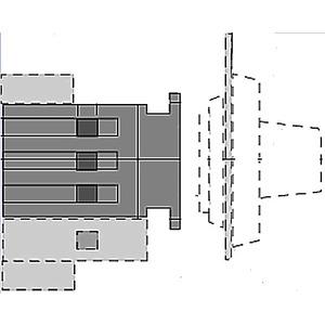 ABB OT25FT3S 3p Sw,door Mnt,ohb2pj Hndl,25a