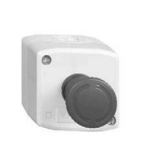 Square D XALK198H7 Control Station, Trigger Action, E-Stop, Red, Mushroom Head, 40mm
