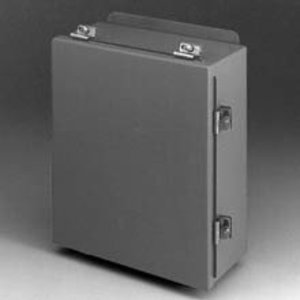 Eaton B-Line 1086-4CHC TYPE 4 JIC CONTINUOUS HINGE COVER ENCLOSURE, 10X8X6