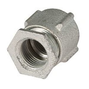 Hubbell-Raco 1512 3 Piece Couplings Malleable Iron, 3 In