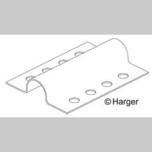 Harger Lightning & Grounding 261 HAR 261 Cu Adhesive Cable Holder