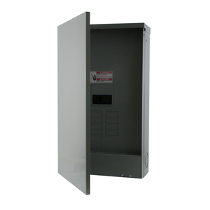Eaton BR816B200RF Load Center, Main Breaker, 200A, 120/240V, 1PH, 8/16, NEMA 3R