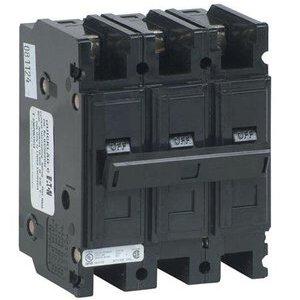 Eaton QC3050H Breaker, Lug in/Lug Out, 3P, 50A, 240VAC, 10kAIC