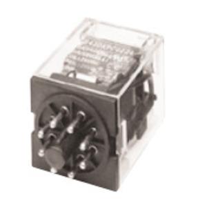 GE CR420KPC0222 Relay, 8-Pin, 2PDT, 120VAC Coil, Type K