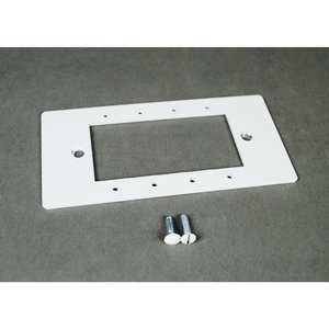 Wiremold EFB10-MAAP EFB10 4PORT AV DEVICE PLATE