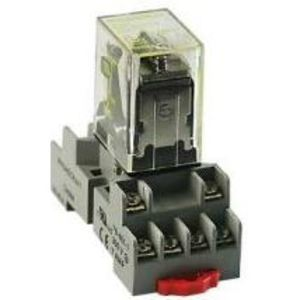 Square D 8501NR45 RELAY SOCKET 300VAC 10AMP TYPE R +OPTION