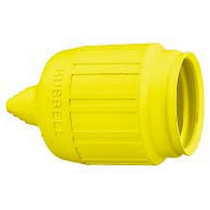 Hubbell-Wiring Kellems 60CM31 SHORT WP BOOT, YELLOW *** Discontinued ***