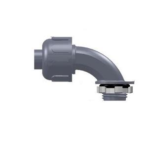 "Anamet 500010 Liquidtight Connector, 90°, 3/4"", Nylon°"