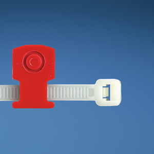 Panduit KIMS-H366-C2 Cable Tie Mount, Knock-In Low Prof, Red