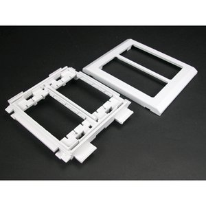 Wiremold 5450WH Device Mounting Bracket, 5400 Series Raceway, White