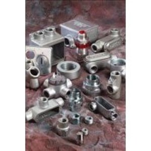 Thomas & Betts LN-ISO40-G 40 MM ISO THREAD LOCKNUT