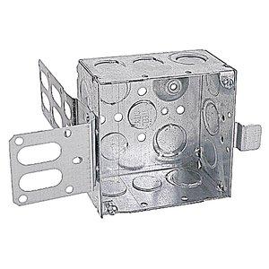 Steel City 52171-EW-SSX 4 IN.SQ DEEP BOX WRAP-ROUND BRACKET