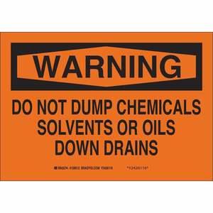 22372 CHEMICAL & HAZD MATERIALS SIGN