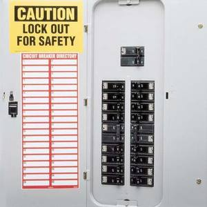 Panduit PES-S1 Circuit Breaker Directory Sign, Paper (a