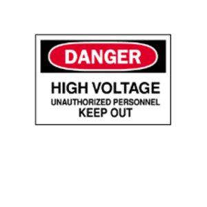 Brady 84085 Electrical Hazard Sign